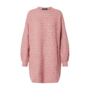 Trendyol Úpletové šaty  růžová