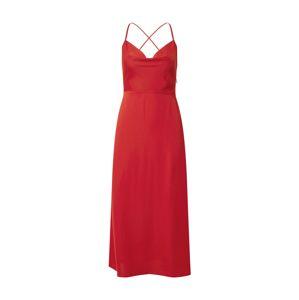 Fashion Union Koktejlové šaty 'Marzi'  červená