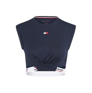 Tommy Sport Sportovní top  námořnická modř / červená / bílá