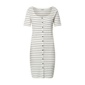JACQUELINE de YONG Letní šaty 'NEVADA'  modrá / bílá