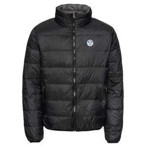 North Sails Zimní bunda 'REVERSIBLE JACKET'  šedá / černá