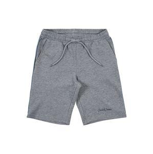 Jack & Jones Junior Kalhoty 'RANGE'  šedý melír
