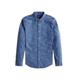 HOLLISTER Košile  modrý melír