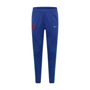 NIKE Sportovní kalhoty  královská modrá / světlemodrá / oranžová