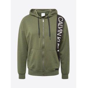 Calvin Klein Underwear Mikina s kapucí  khaki