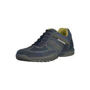 Dockers by Gerli Sportovní šněrovací boty  tmavě modrá