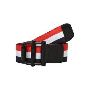 Tommy Jeans Opasek '4.0 GIFTBOX'  červená / černá / bílá