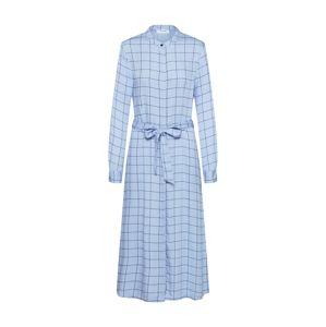 MOSS COPENHAGEN Košilové šaty 'Meline Alana LS Dress AOP'  modrá