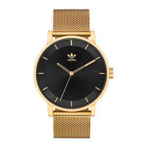 ADIDAS ORIGINALS Analogové hodinky 'District_M1'  zlatá / černá