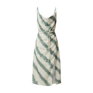 4th & Reckless Letní šaty 'LAURIE'  mátová / béžová