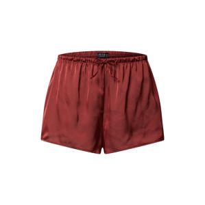 Icone Lingerie Pyžamové kalhoty 'BIRGITTE'  červená / vínově červená