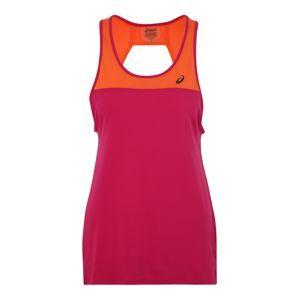 ASICS Sportovní top  oranžová / pink
