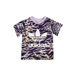 ADIDAS ORIGINALS Tričko  světle fialová / tmavě fialová / žlutá / bílá / růžová
