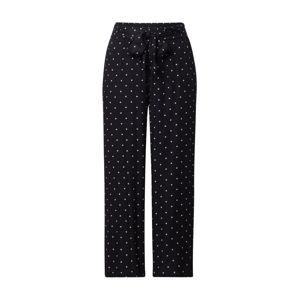 Kaffe Kalhoty 'KAdarielle Culotte Pants'  bílá / černá