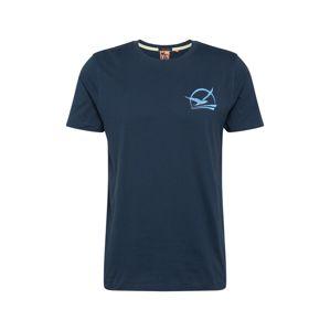 Hailys Men Tričko 'Sunset'  námořnická modř
