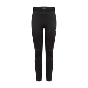 ASICS Sportovní kalhoty 'LITE-SHOW WINTER TIGHT'  zelená / černá