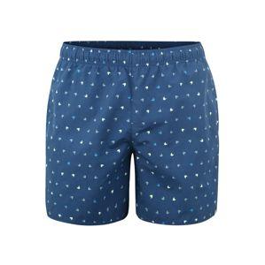 ADIDAS PERFORMANCE Sportovní kalhoty 'AOP SH SL'  tmavě modrá