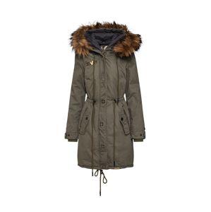 Khujo Zimní kabát 'ADELISA'  olivová