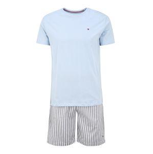 Tommy Hilfiger Underwear Pyžamo krátké  světle šedá / modrá
