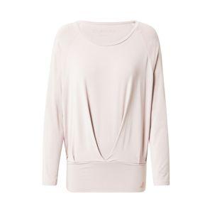 CURARE Yogawear Funkční tričko  pudrová