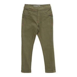 Sanetta Kidswear Kalhoty  tmavě zelená