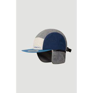 O'NEILL Klobouk 'Jockey'  modrá / námořnická modř / šedý melír