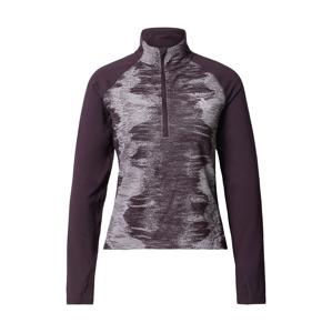 ADIDAS PERFORMANCE Sportovní mikina  bobule / pastelová fialová