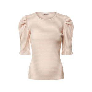 ONLY Tričko 'ONLTENNA'  růžová / bílá