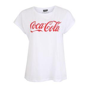 Studio Untold Tričko 'Coca Cola'  bílá