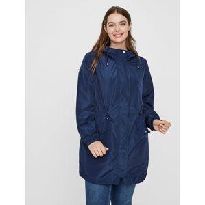 Junarose Přechodný kabát  modrá