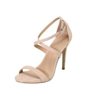 NEW LOOK Páskové sandály 'SARINA'  tělová