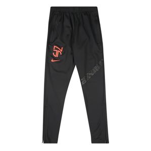 NIKE Sportovní kalhoty 'Neymar'  šedá / černá / oranžová