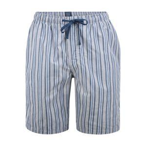 SCHIESSER Pyžamové kalhoty  modrá