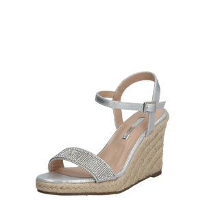 Dorothy Perkins Páskové sandály ''Raa-raa'  šedá