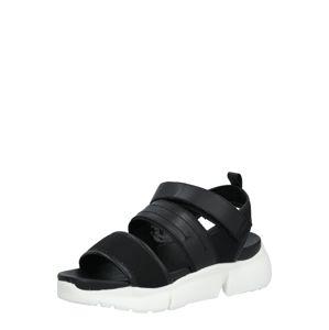 Shoe The Bear Sandály 'MALA'  bílá / černá
