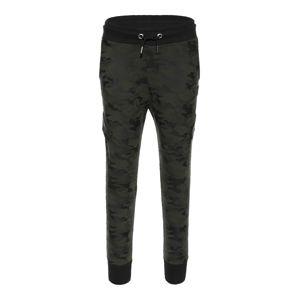 BLUE EFFECT Kalhoty  khaki / jedle