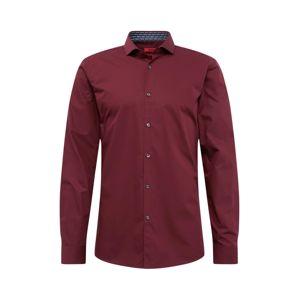 HUGO Společenská košile 'Errik'  červená