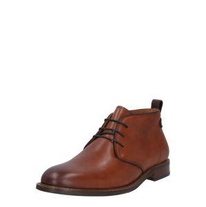 Dune LONDON Kotníkové boty 'MARCHING'  karamelová
