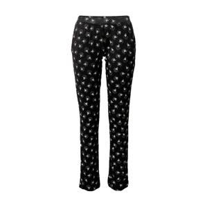 ETAM Pyžamové kalhoty 'JODIE'  bílá / černá