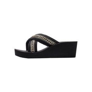 LASCANA Pantofle 'Lascana'  černá