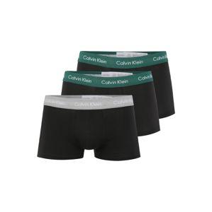 Calvin Klein Boxerky  šedá / černá / tmavě zelená