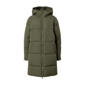 VILA Zimní bunda  tmavě zelená
