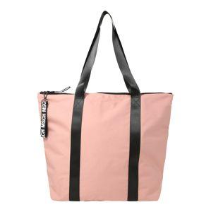MOSS COPENHAGEN Nákupní taška 'Milene'  růžová / černá
