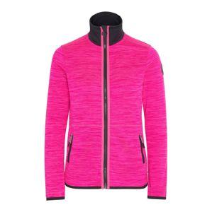 CHIEMSEE Funkční fleecová mikina 'Trivor'  pink / černá