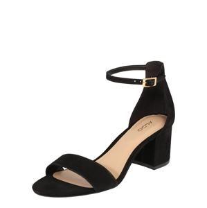 ALDO Páskové sandály 'Villarosa'  černá