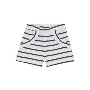 NAME IT Kalhoty 'Hollie'  bílá / námořnická modř