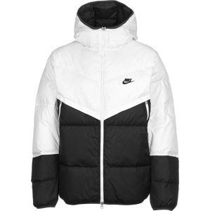 Nike Sportswear Zimní bunda 'Fill Shield'  černá / bílá