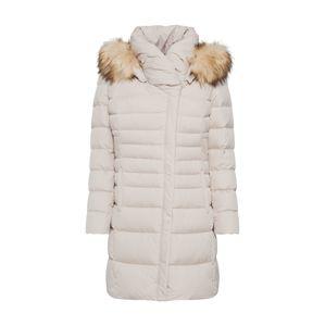 COMMA Zimní kabát  tmavě béžová