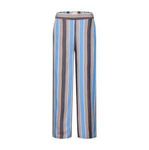 NÜMPH Kalhoty 'New Avonlea'  modrá / hnědá