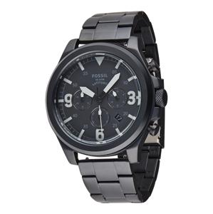 FOSSIL Analogové hodinky 'Latitude'  černá